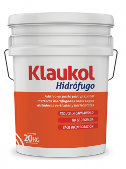 Hidrófugo en pasta balde x 20kg