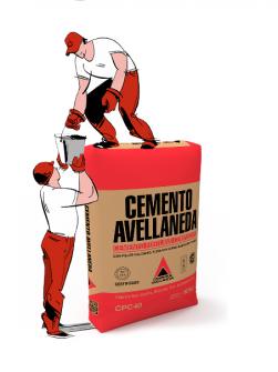 Cemento Pórtland Avellaneda CPC40 x 50Kg.