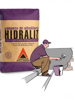 Cemento Albañilería HIDRALIT x 40 Kg