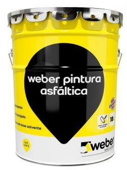 Weber Pintura Asfáltica x 18 litros