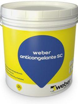 Weber Anticongelante SC x 25 kg