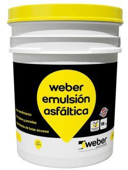 Weber Emulsión Asfáltica x 4 litros