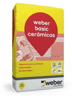 Weber Basic x 30kg – Pegamento Cerámica