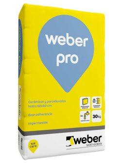Weber Pro x 30kg – Pegamento Porcellanato