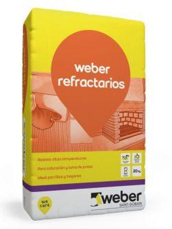 Weber Refractarios x 5kg – Pegamento Ladrillos Refractarios